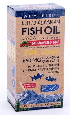 Wild Alaskan Fish Oil at Paul's Natural foods shop UK