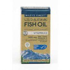 Vitamin K2 Fish Oil at Paul's Natural foods shop UK