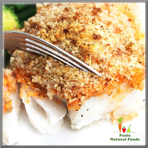 Baked Cod with a Herby Crust